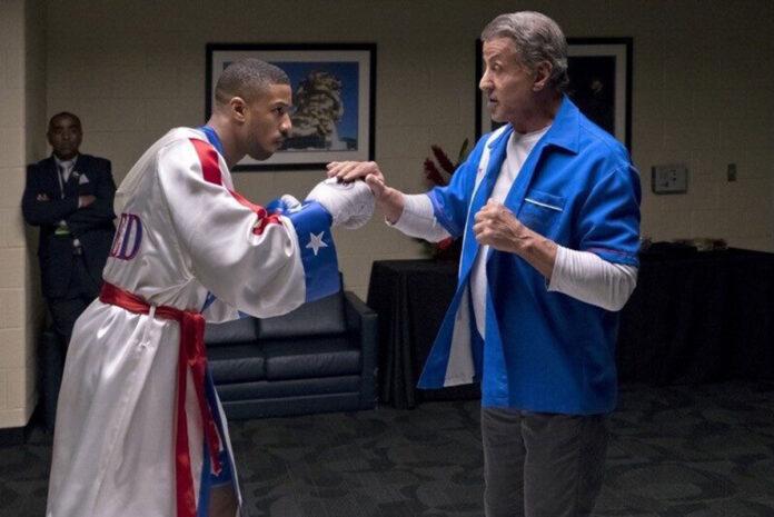 Adonis 'Donnie' Creed (Michael B. Jordan) e Rocky Balboa (Sylvester Stallone)