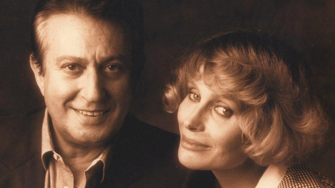 Alberto Lionello e Erica Blanc