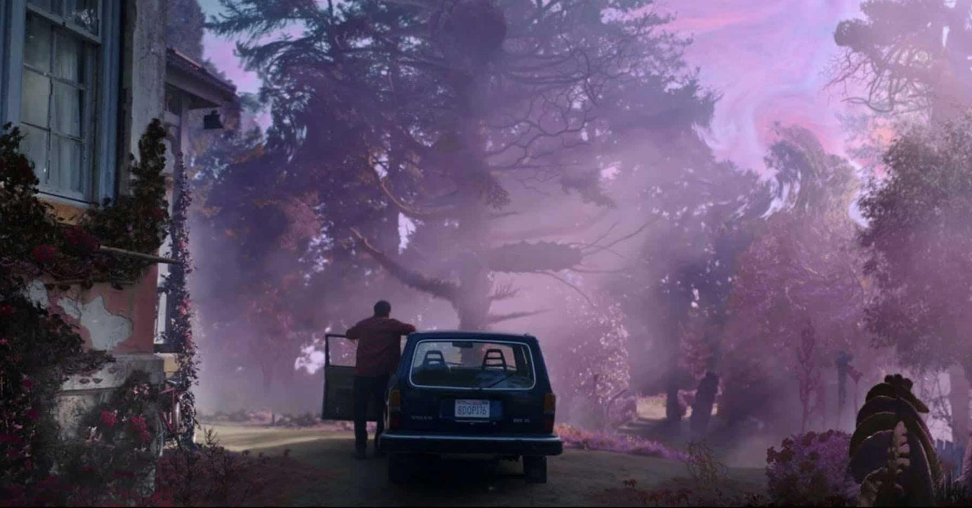Il colore venuto dallo spazio recensione film di Richard Stanley con Nicolas Cage