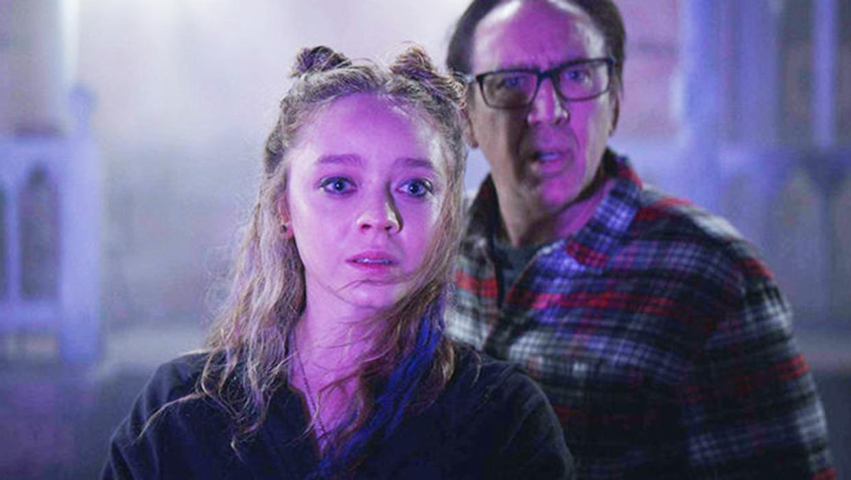 Madeleine Arthur e Nicolas Cage