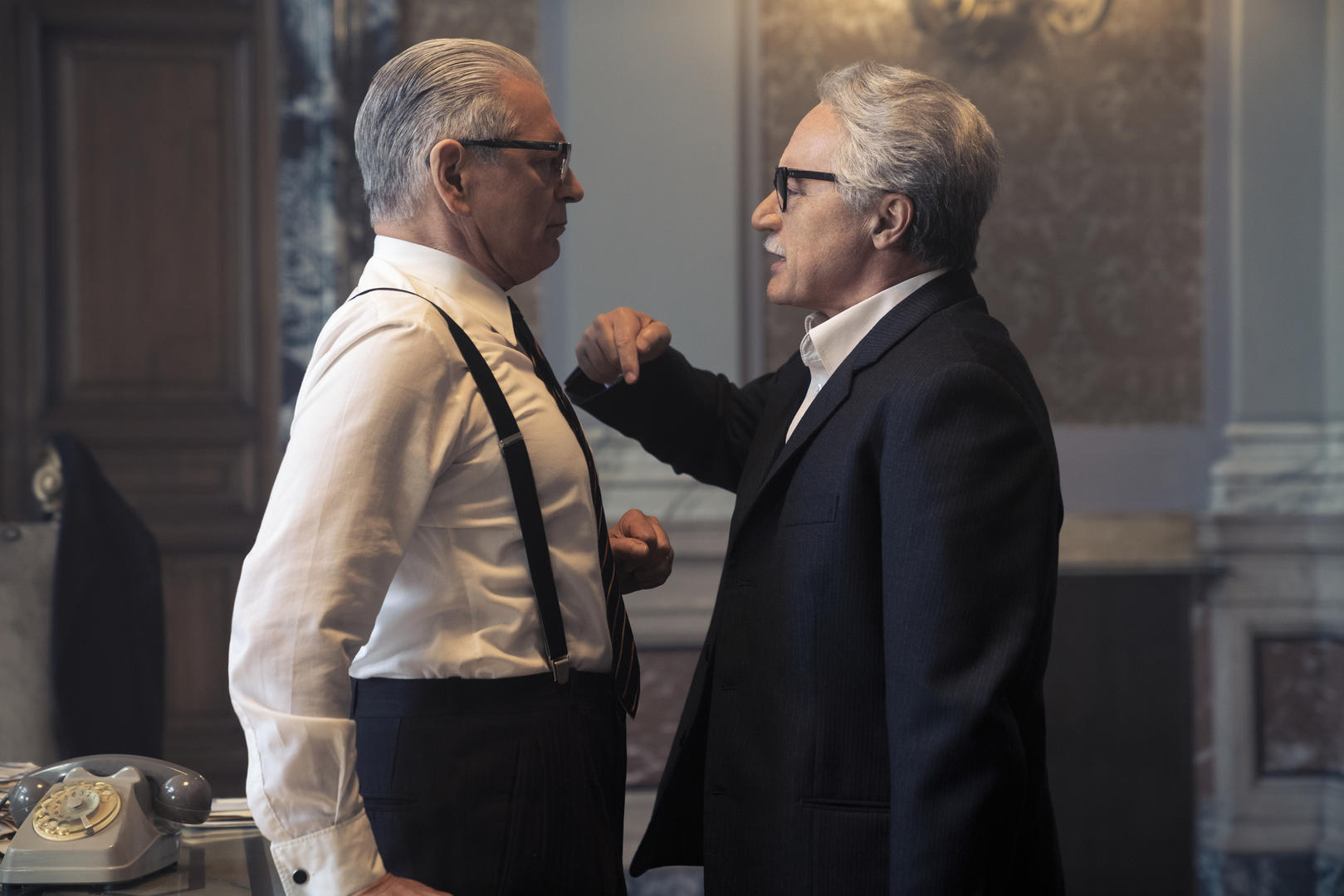 Fabrizio Bentivoglio e Luca Zingaretti