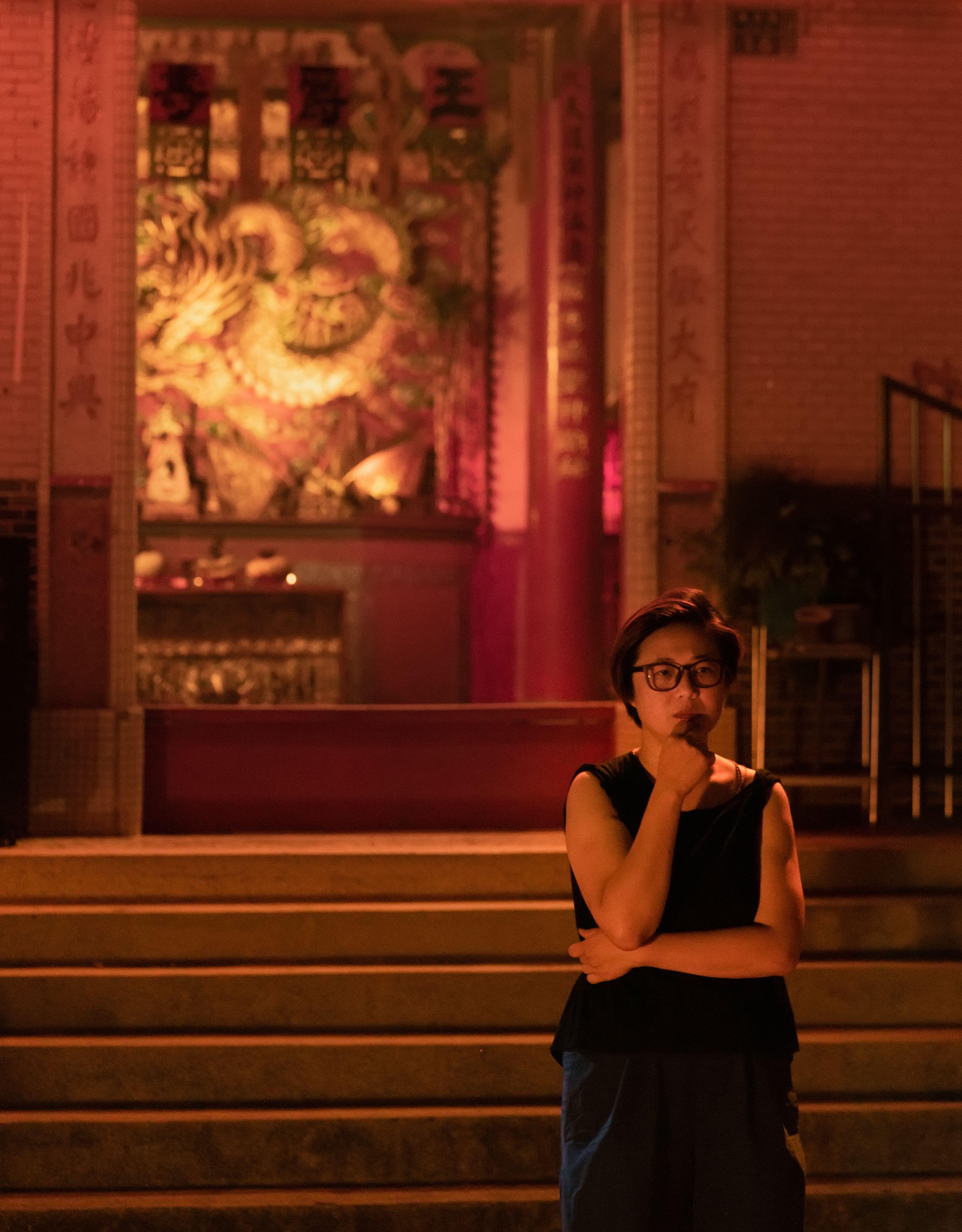 La regista Mian Mian Lu