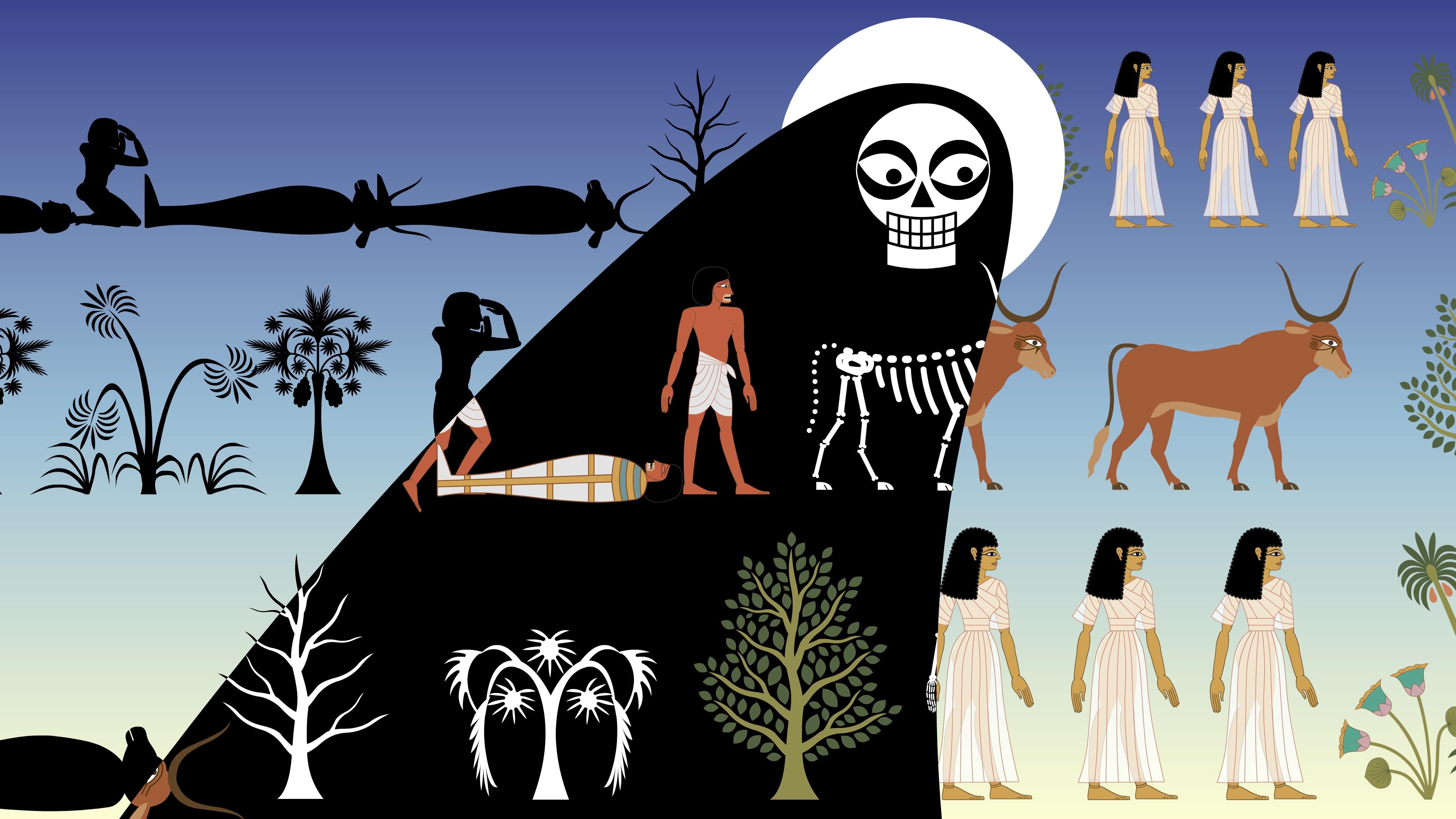 La Morte e il Popolo d'Egitto