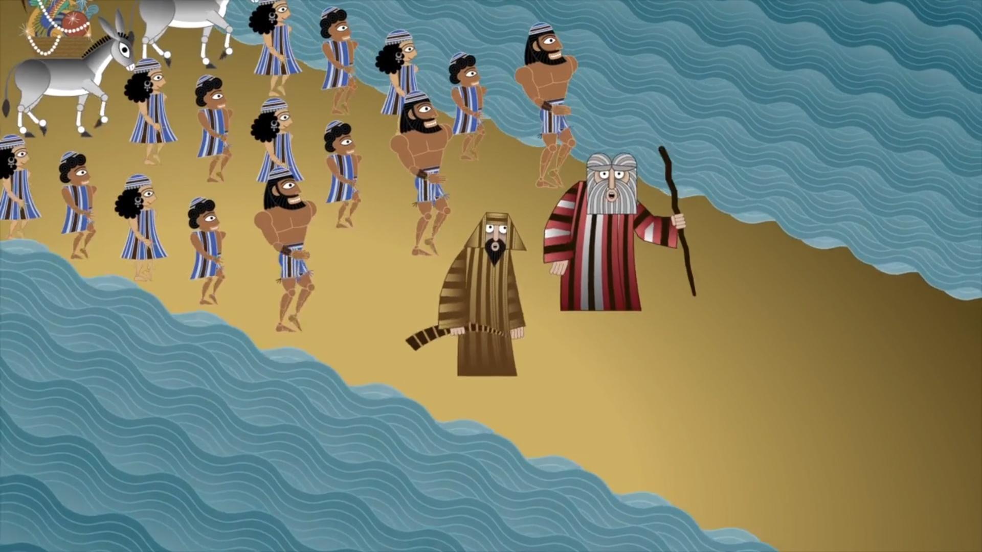 Mosè e la divisione della acque