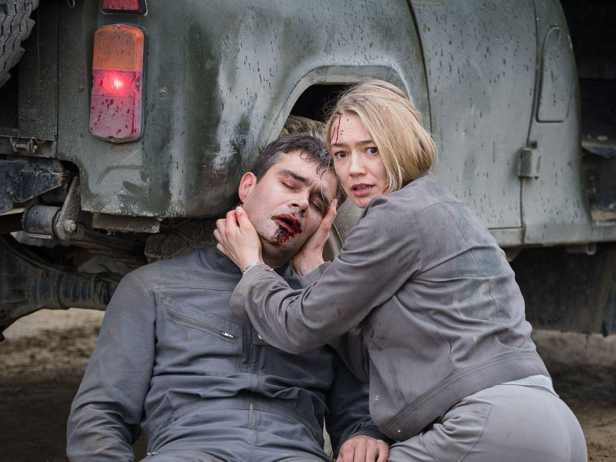 Oksana Akinshina e Pyotr Fyodorov