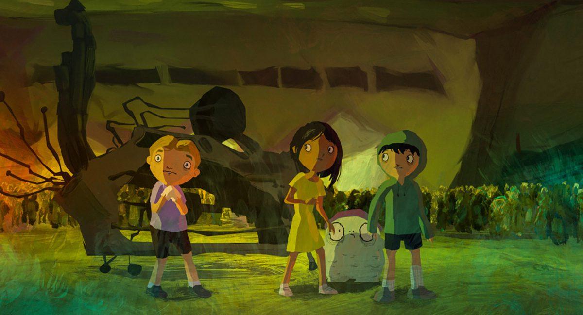 Il film animato di Gabriel Bitar, André Catoto e Gustavo Steinberg