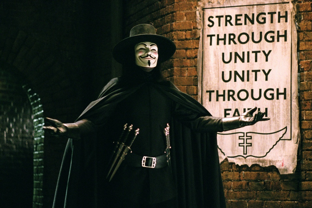 Hugo Weaving in V per Vendetta