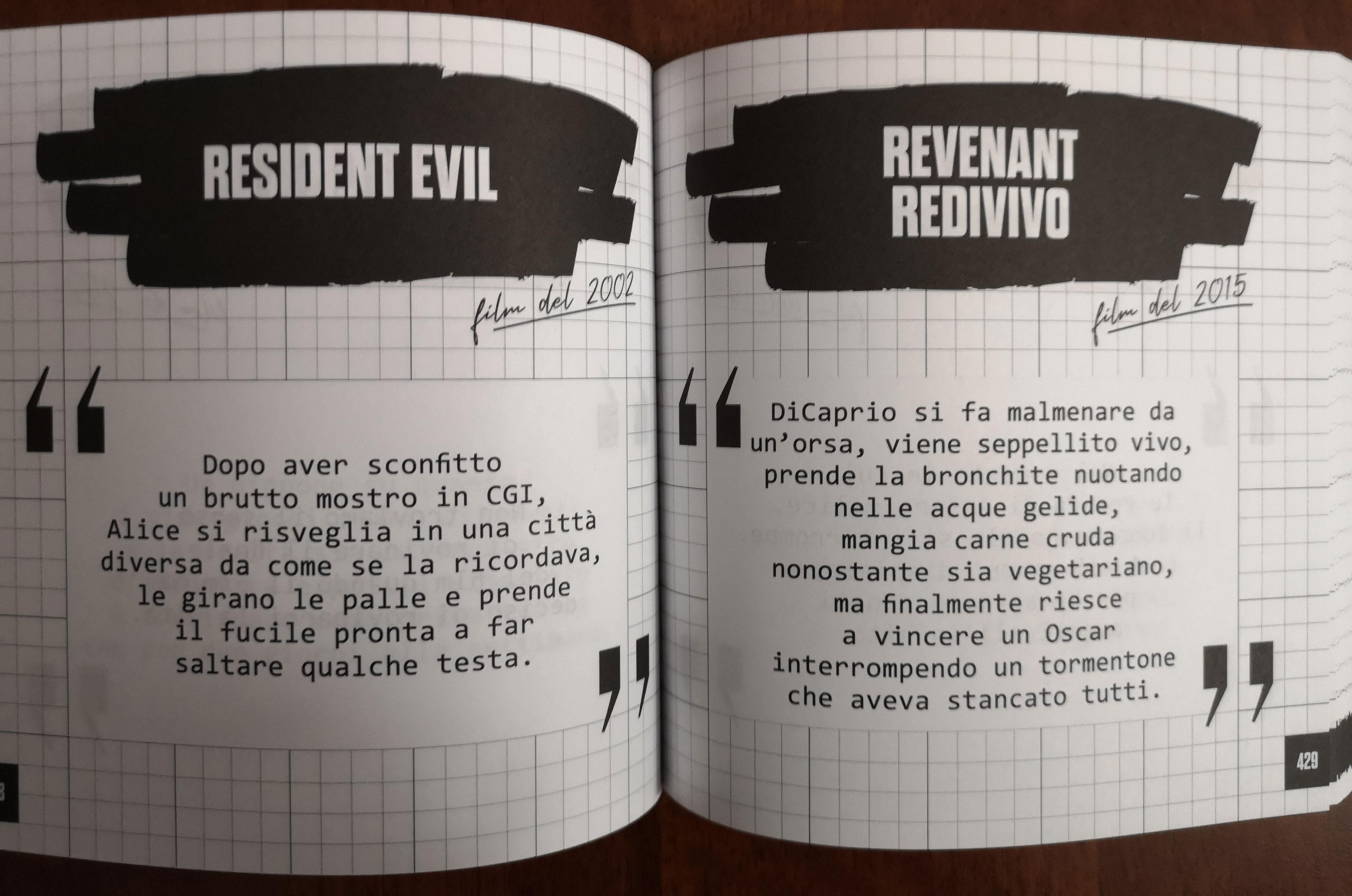 L'Oscar di DiCaprio e gli zombie di Resident Evil
