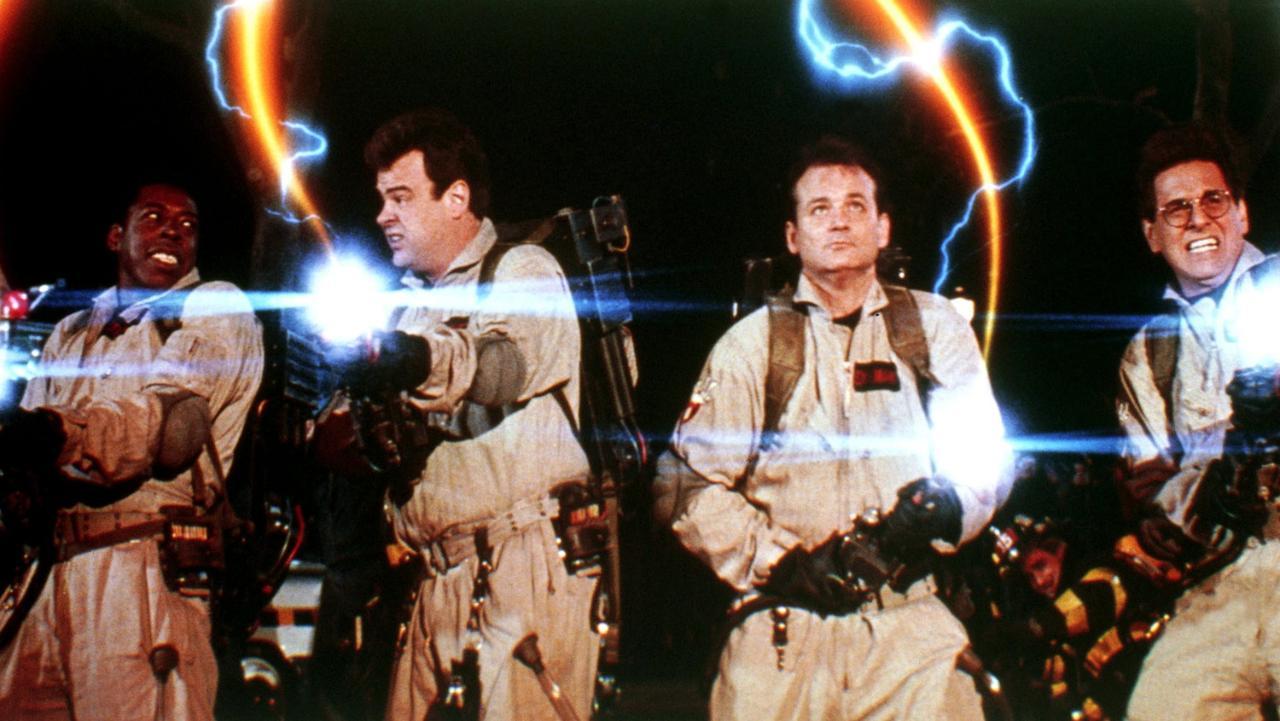 Ernie Hudson, Dan Aykroyd, Bill Murray e Harold Ramis