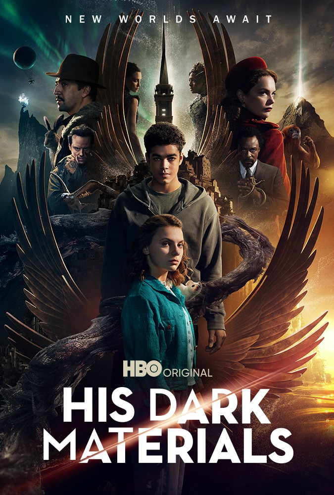 La locandina della seconda stagione di His Dark Materials
