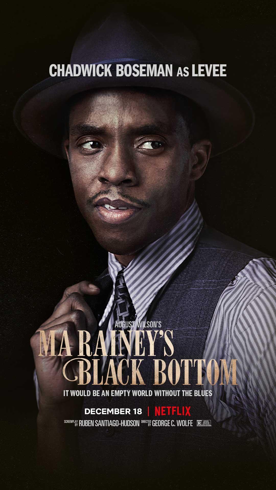 Ma Rainey's Black Bottom: il poster con Chadwick Boseman