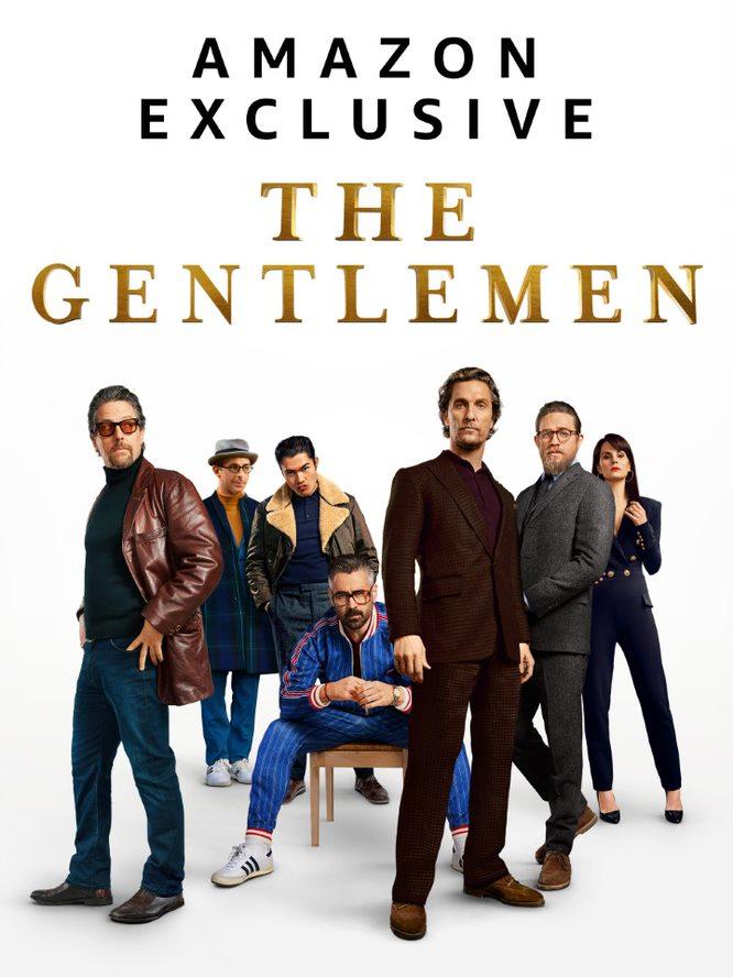 The Gentlemen: il poster