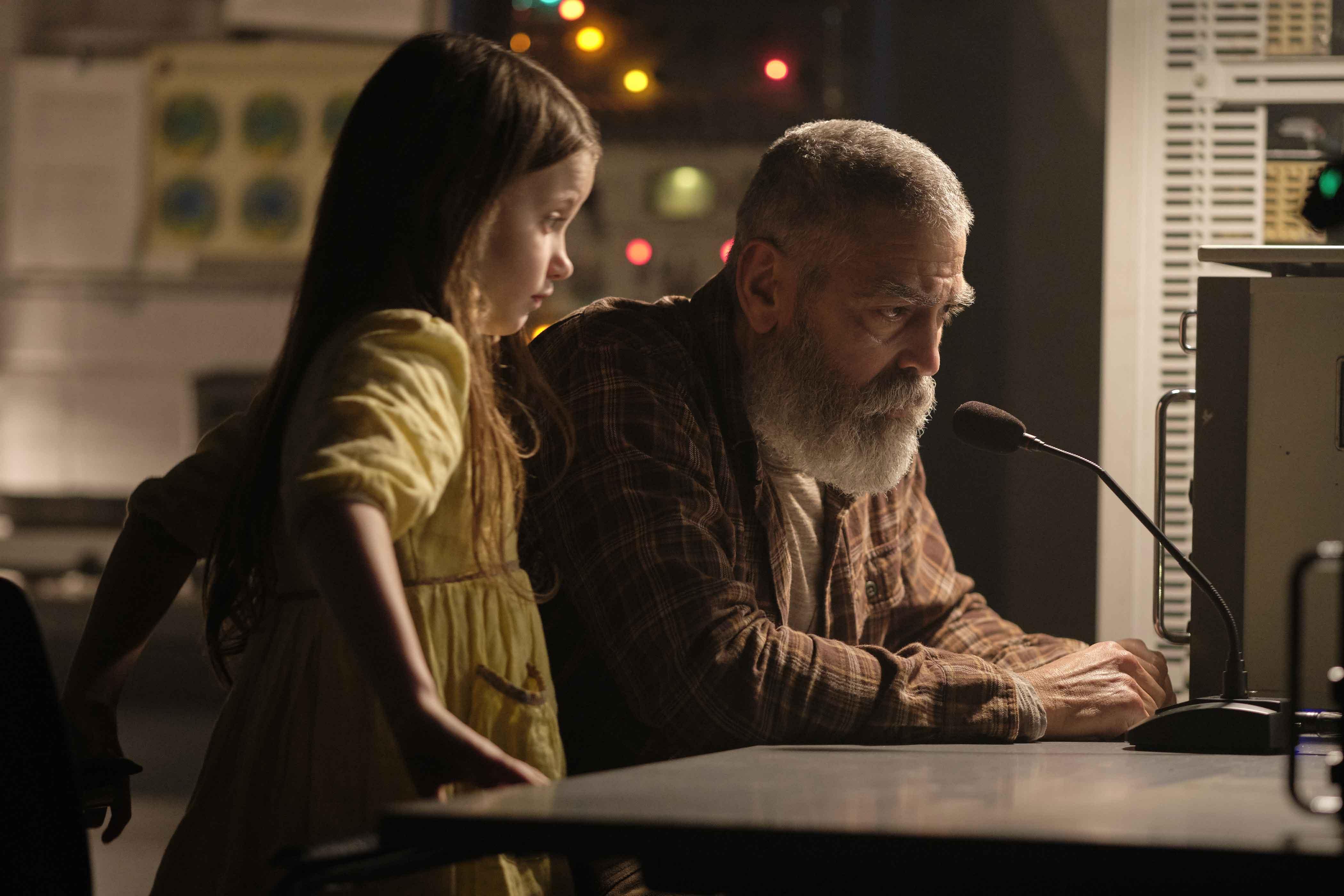 George Clooney e Caoilinn Springall