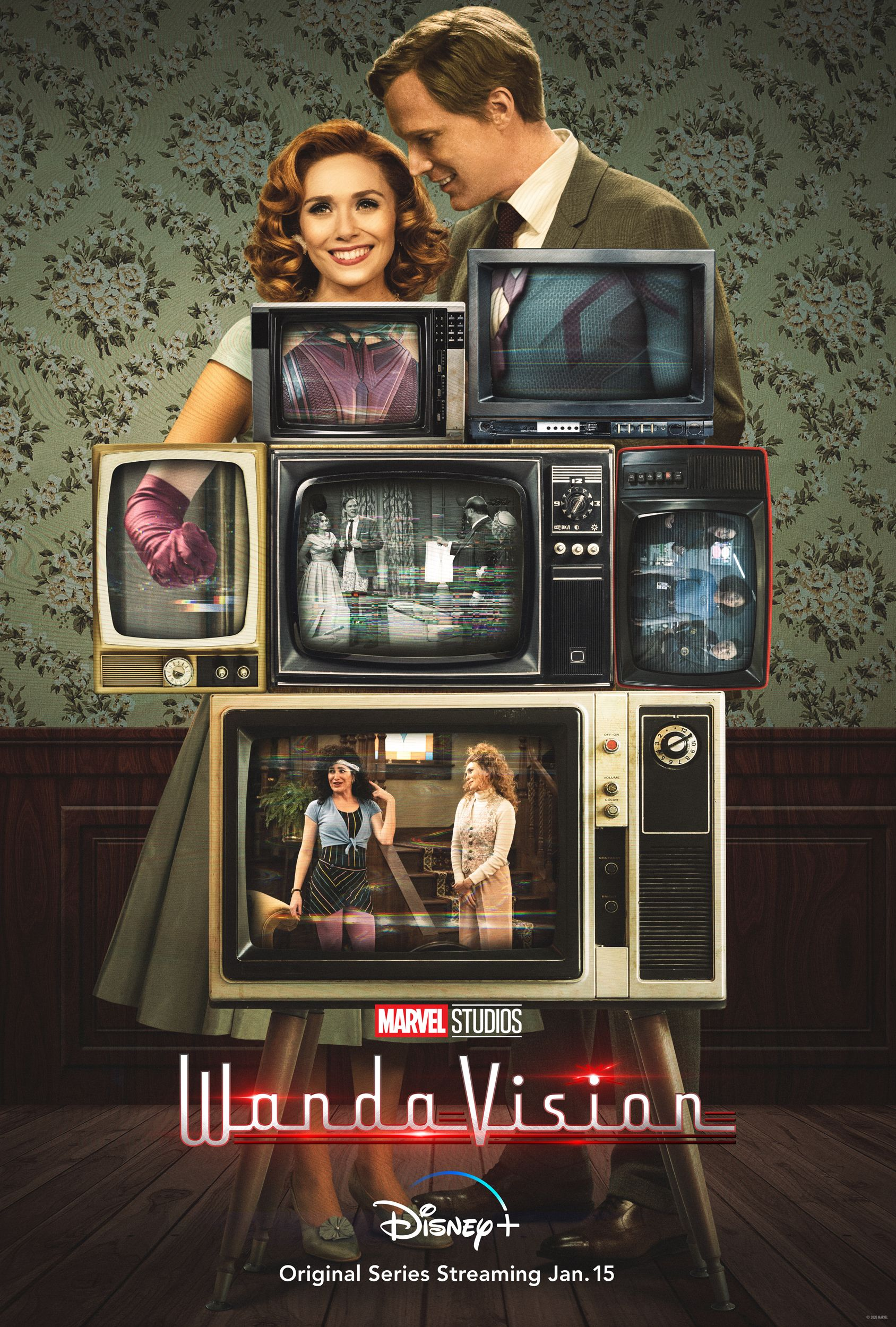 WandaVision: il poster della serie Disney+