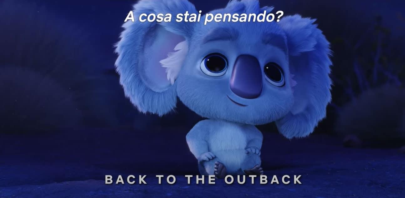 Il film d'animazione Back to the Outback
