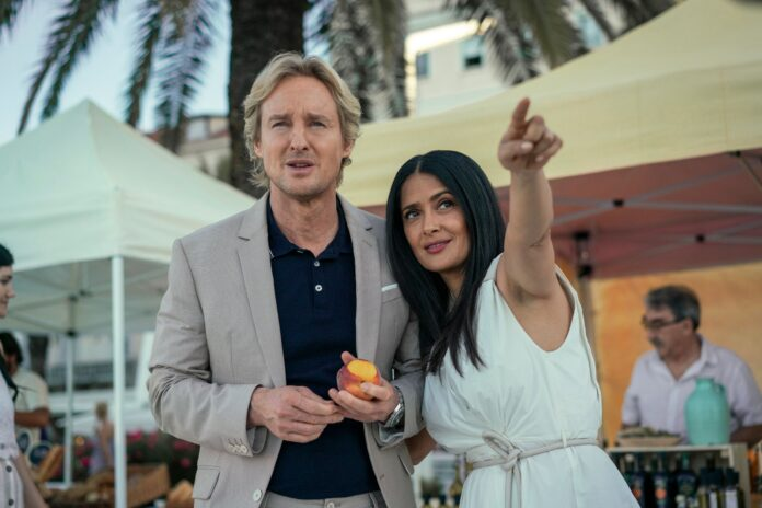 Salma Hayek e Owen Wilson in Bliss cinema news