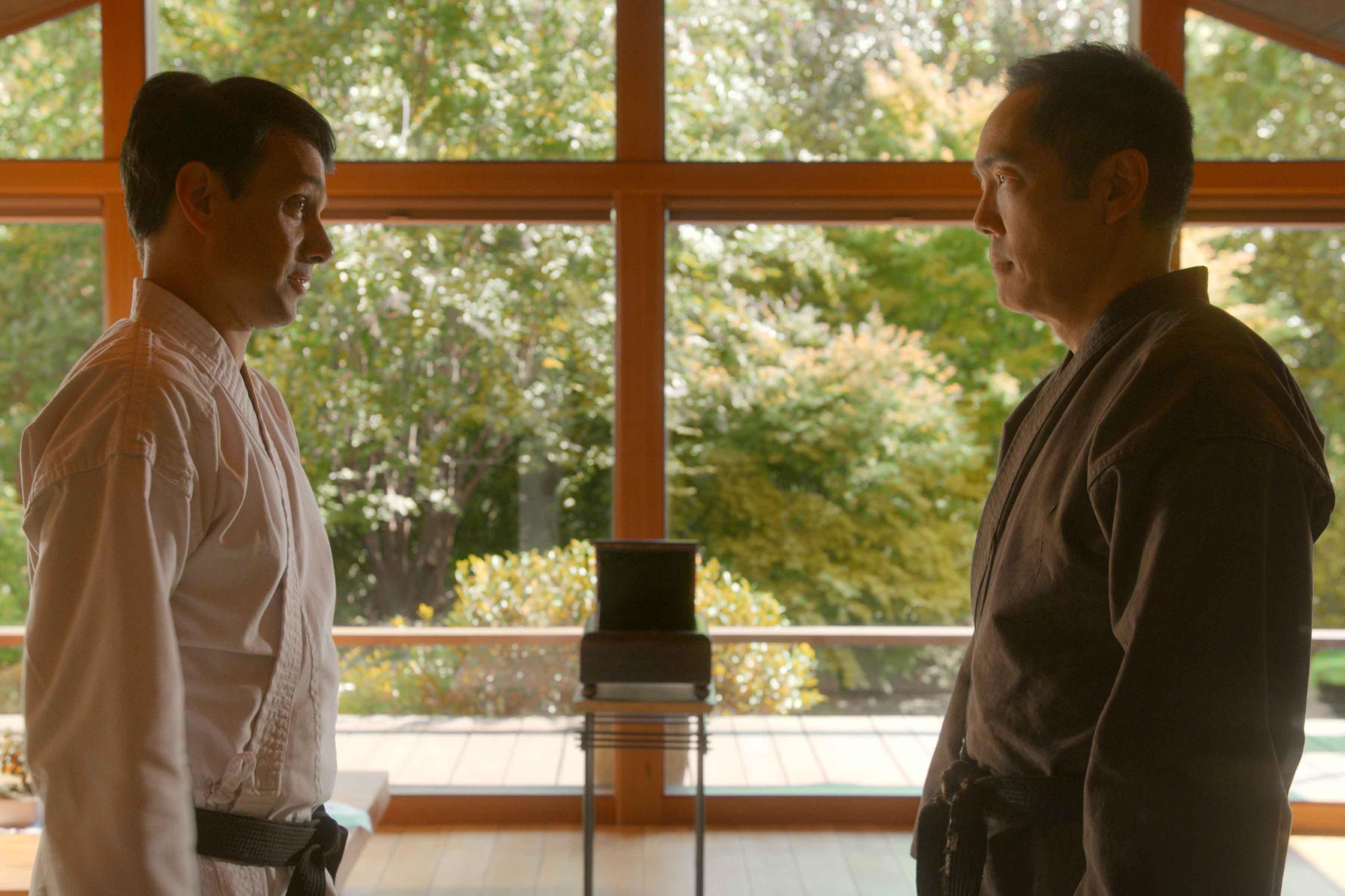 Ralph Macchio e Yuji Okumoto