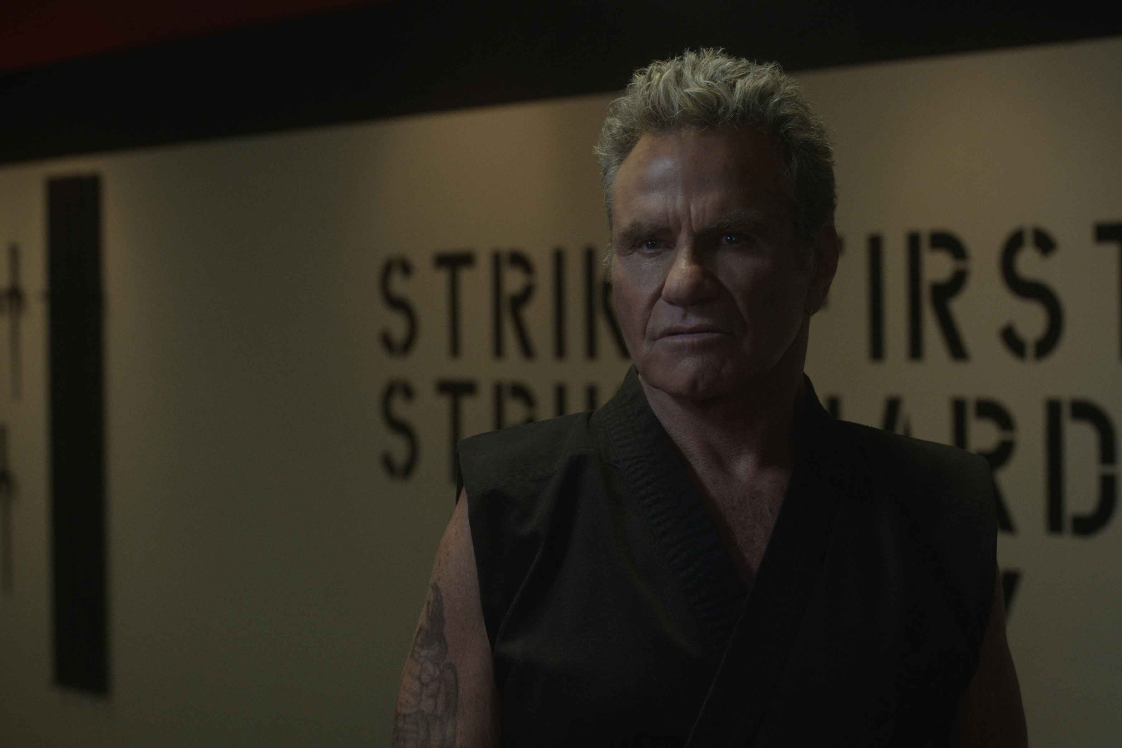 Martin Kove in Cobra Kai 3