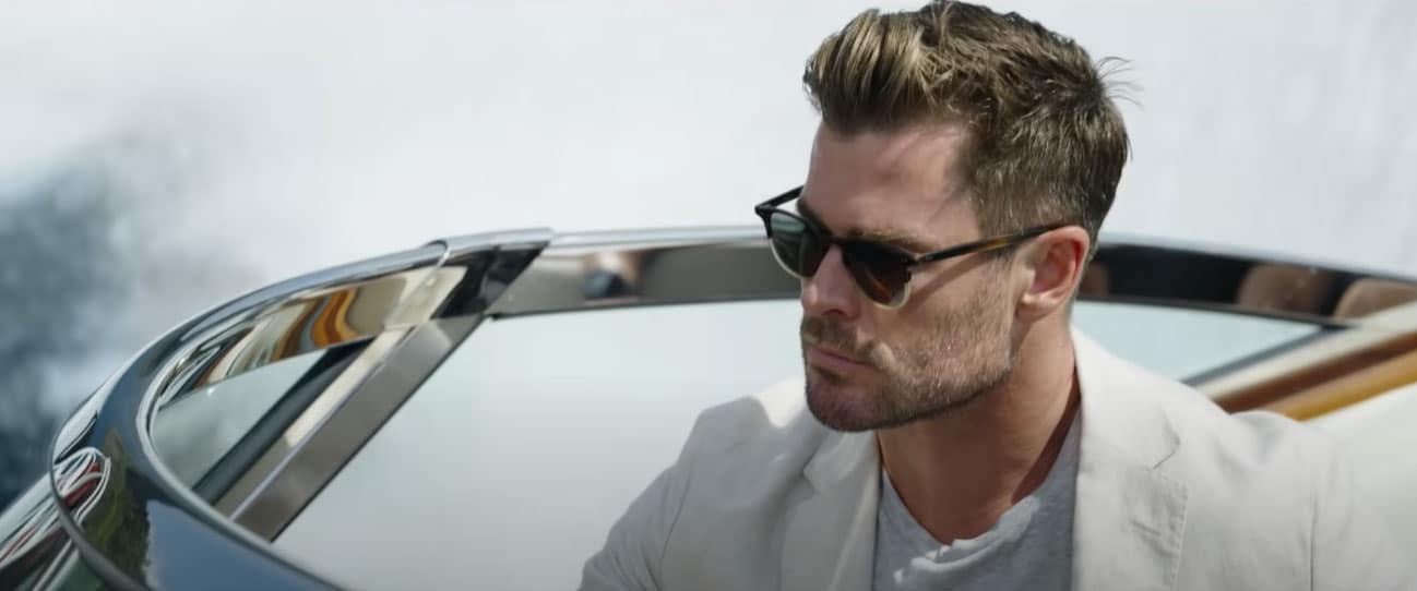 Chris Hemsworth in Escape from Spiderhead