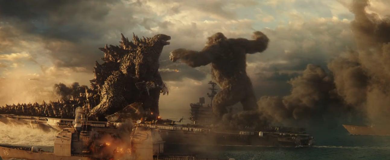 Godzilla vs. Kong: l'altezza di Godzilla e Kong a confronto