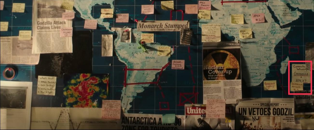 I riferimenti ad APEX nel trailer di Godzilla vs. Kong