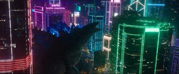 Godzilla e i suoi inconfondibili bagliori blu