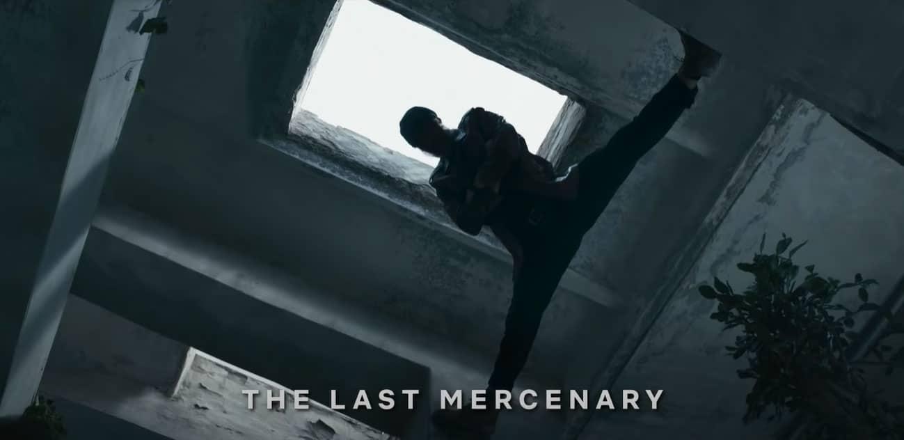 Jean-Claude Van Damme in The Last Mercenary