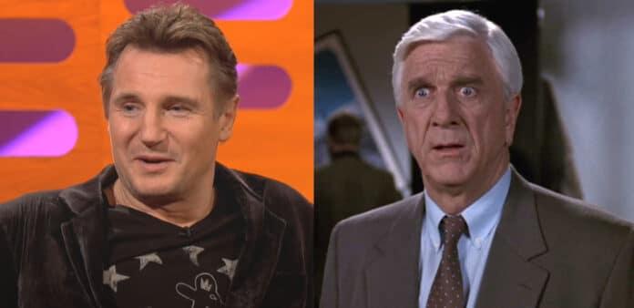 Liam Neeson nel remake di Una pallottola spuntata cinema news