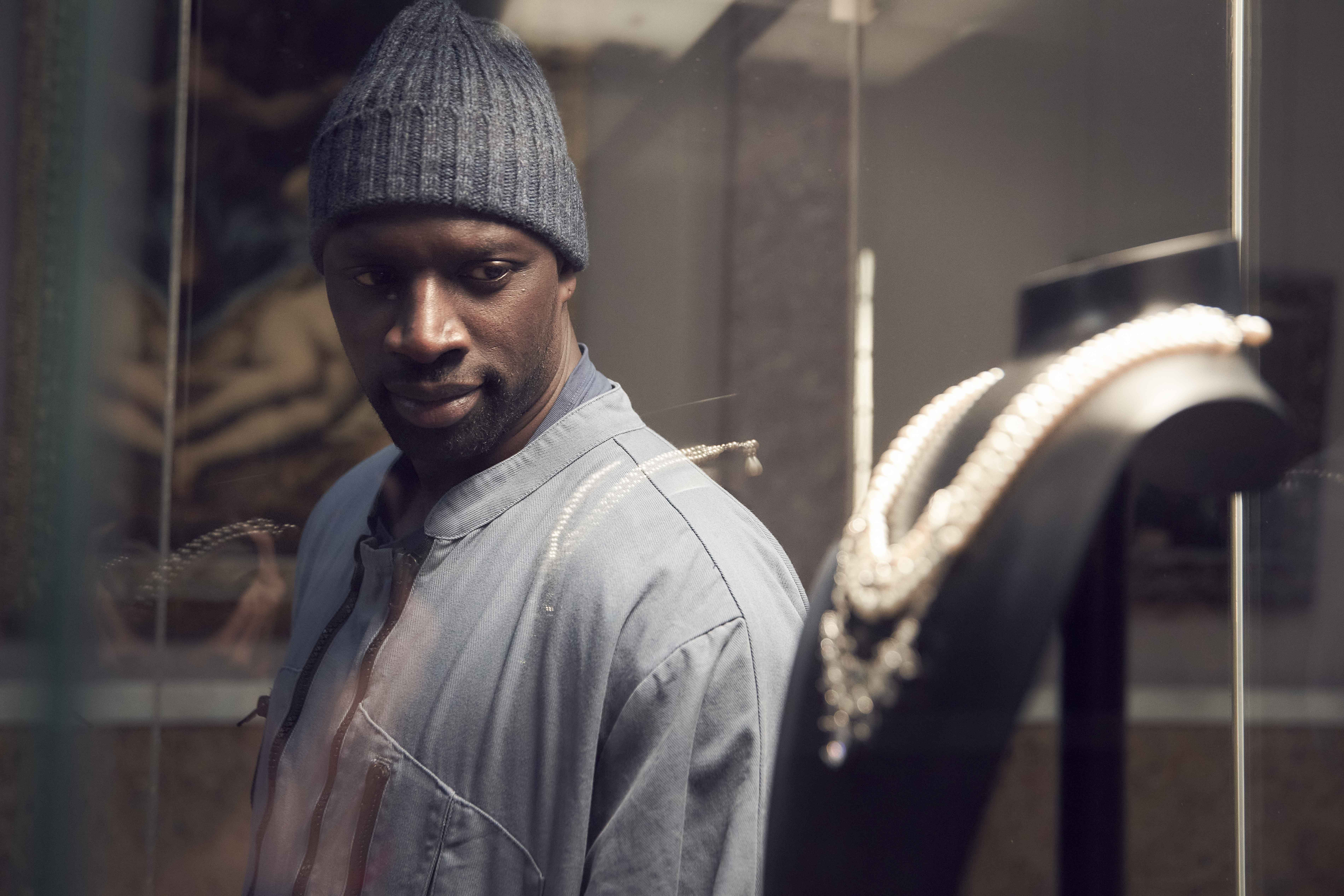 Lupin serie TV con Omar Sy