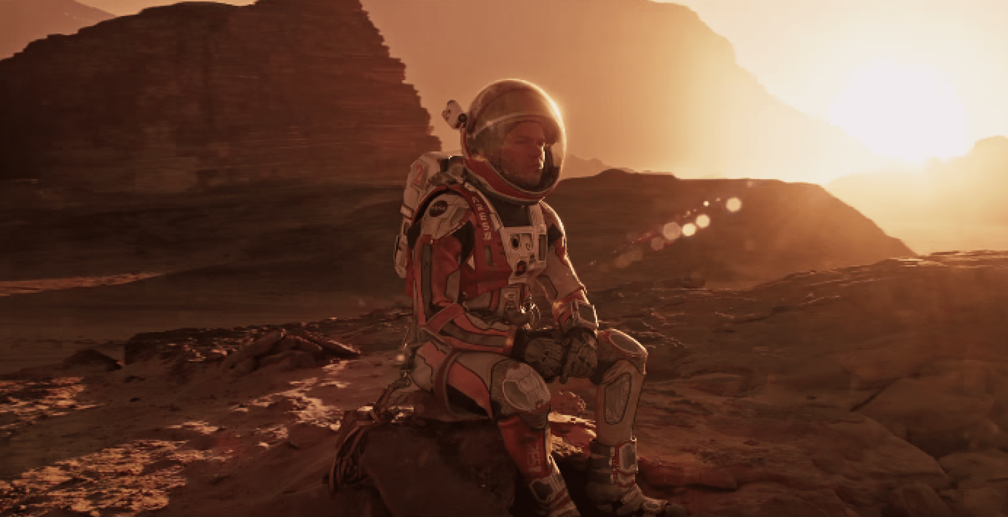 Matt Damon in The Martian (Credits: 20th Century Fox/20th Century Studios/Disney)