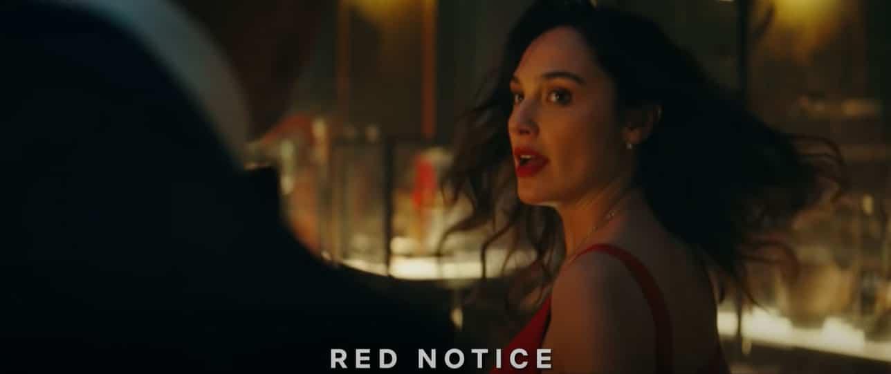 Gal Gadot in Red Notice Netflix