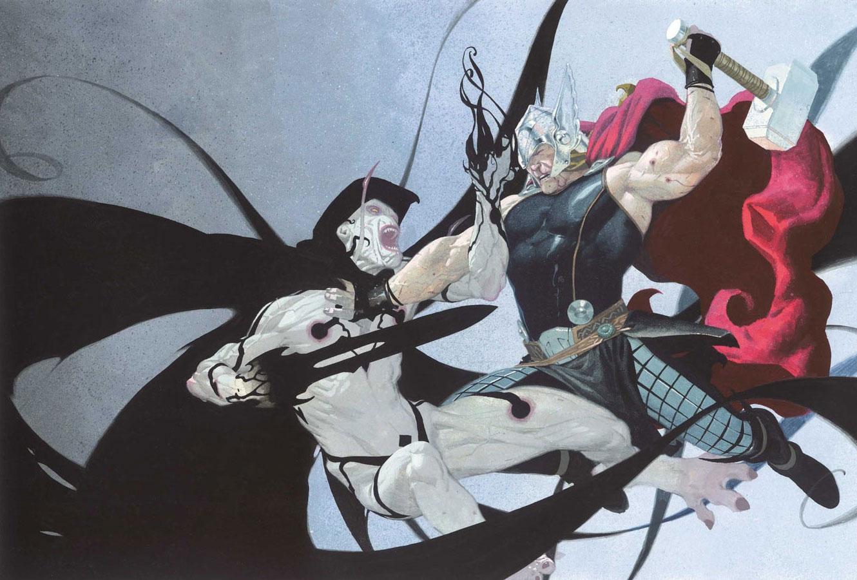 Gorr the God Butcher vs. Thor nei fumetti Marvel
