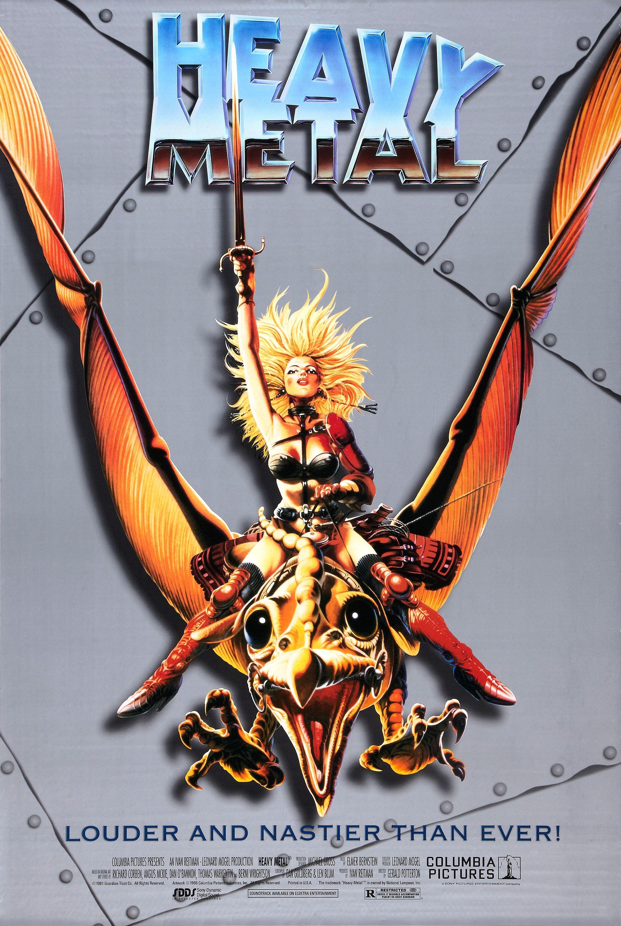 Il poster di Heavy Metal