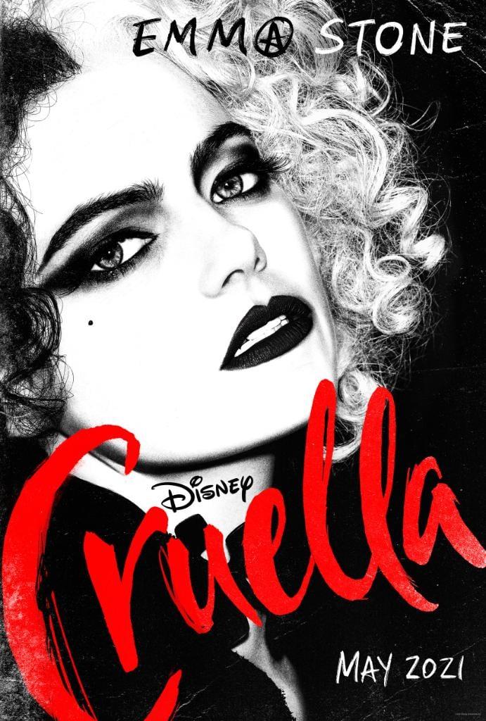 Crudelia: il nuovo poster con Emma Stone cinema news