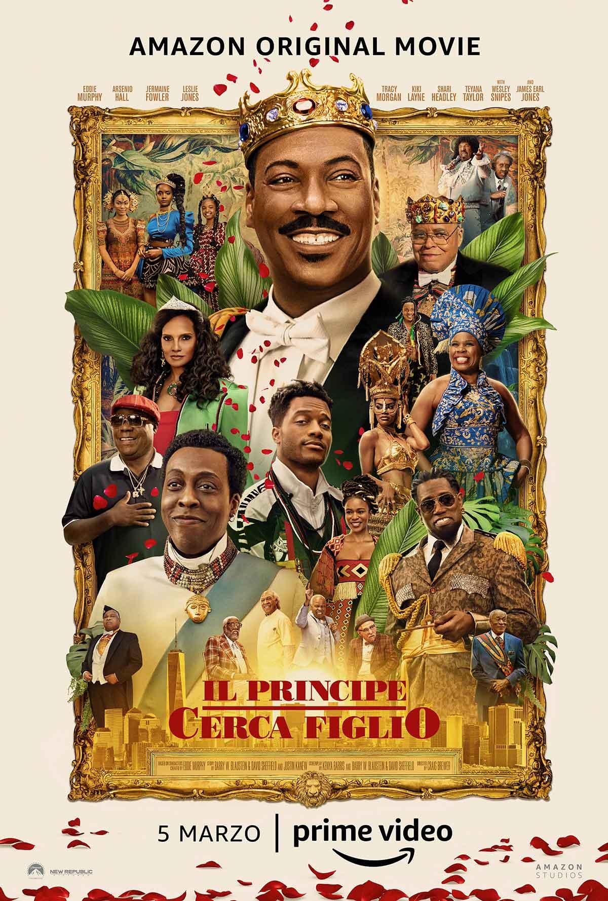 Il principe cerca figlio: il poster italiano