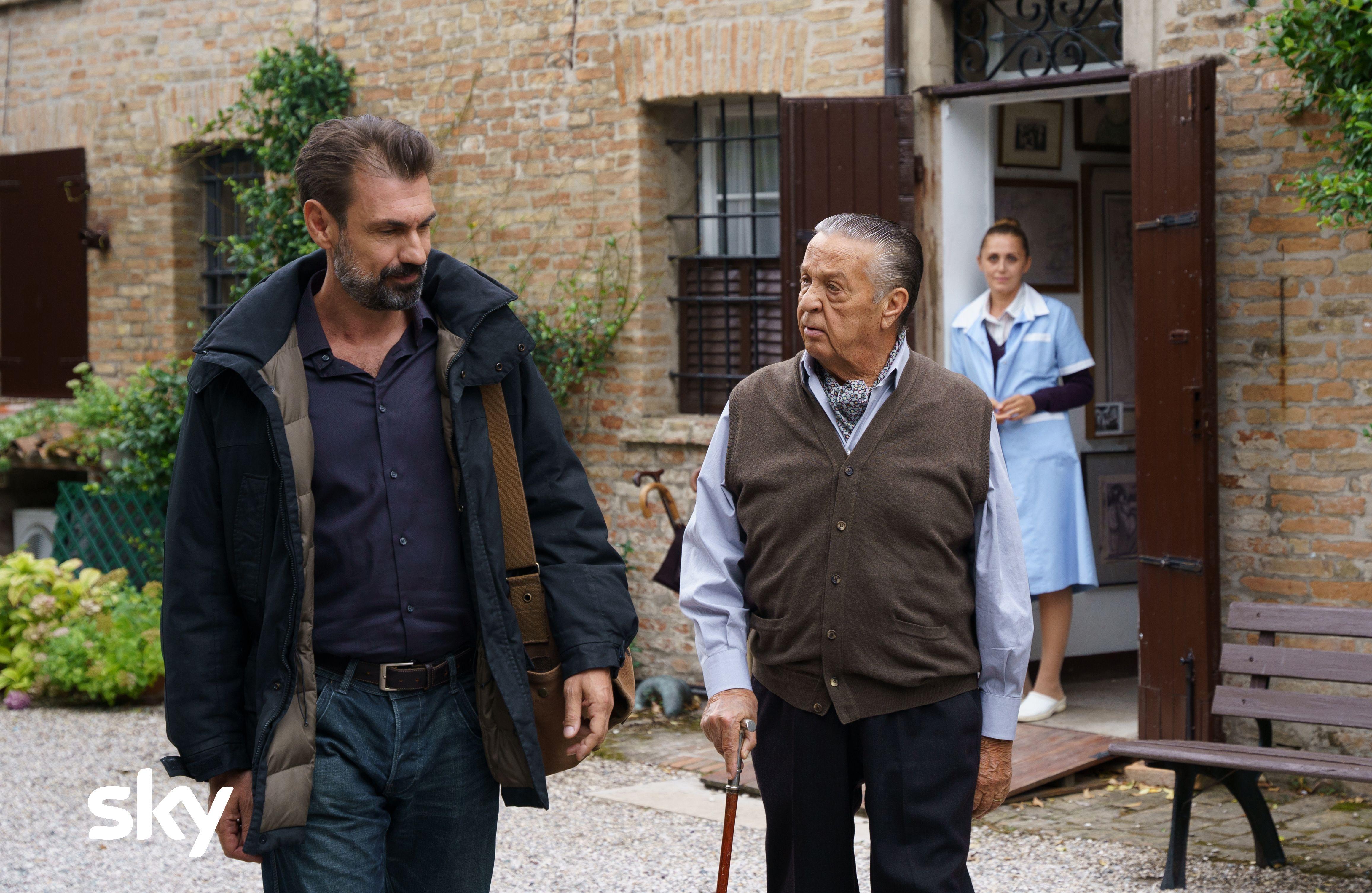 Renato Pozzetto e Fabrizio Gifuni