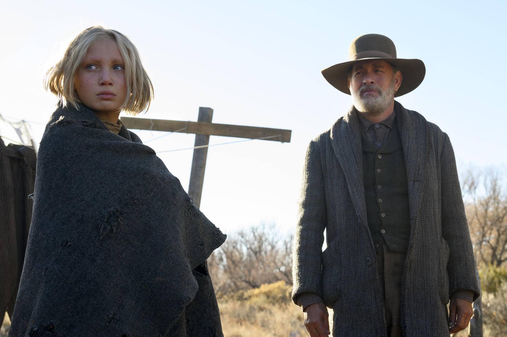 Tom Hanks e Helena Zengel