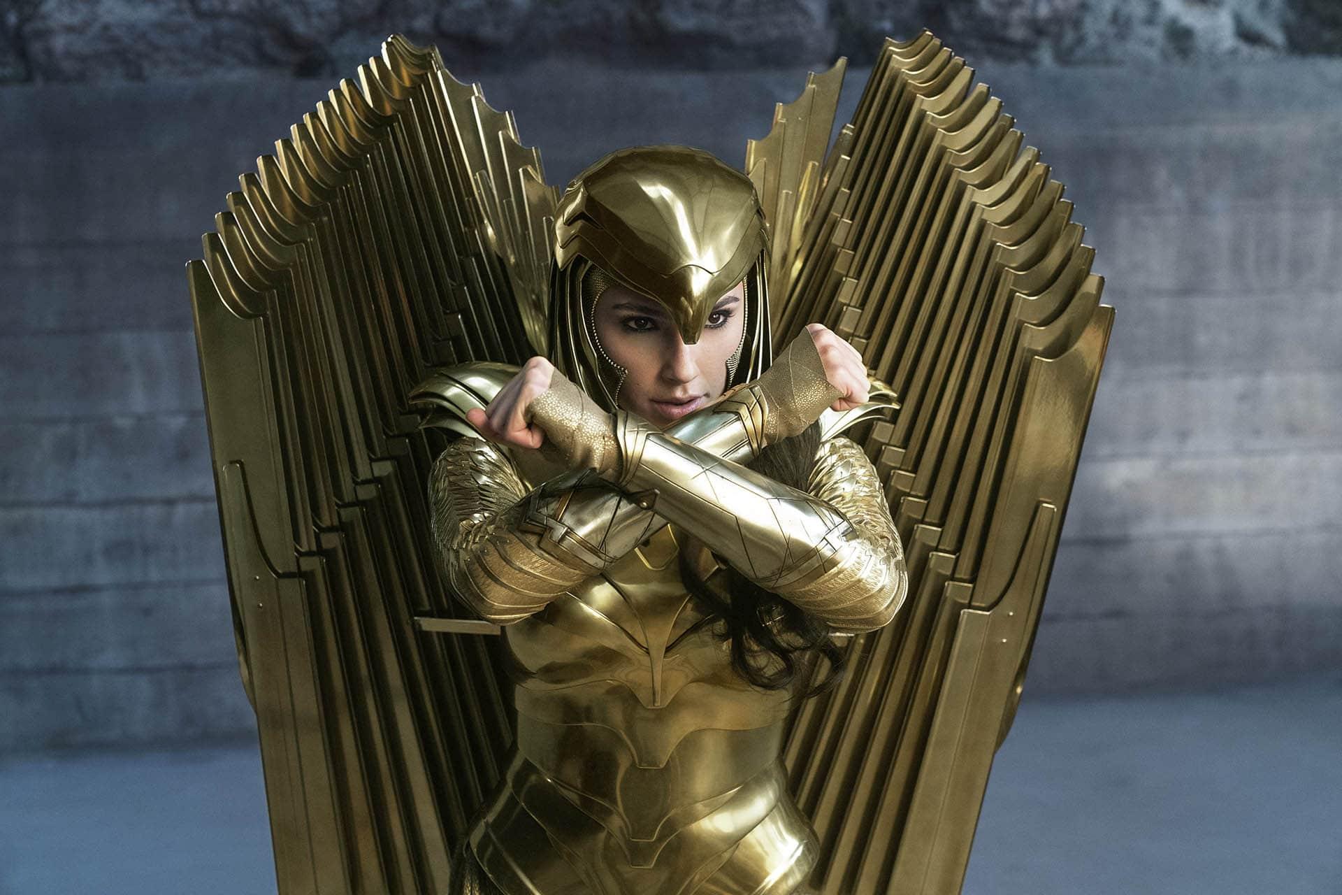 L'armatura d'oro di Wonder Woman