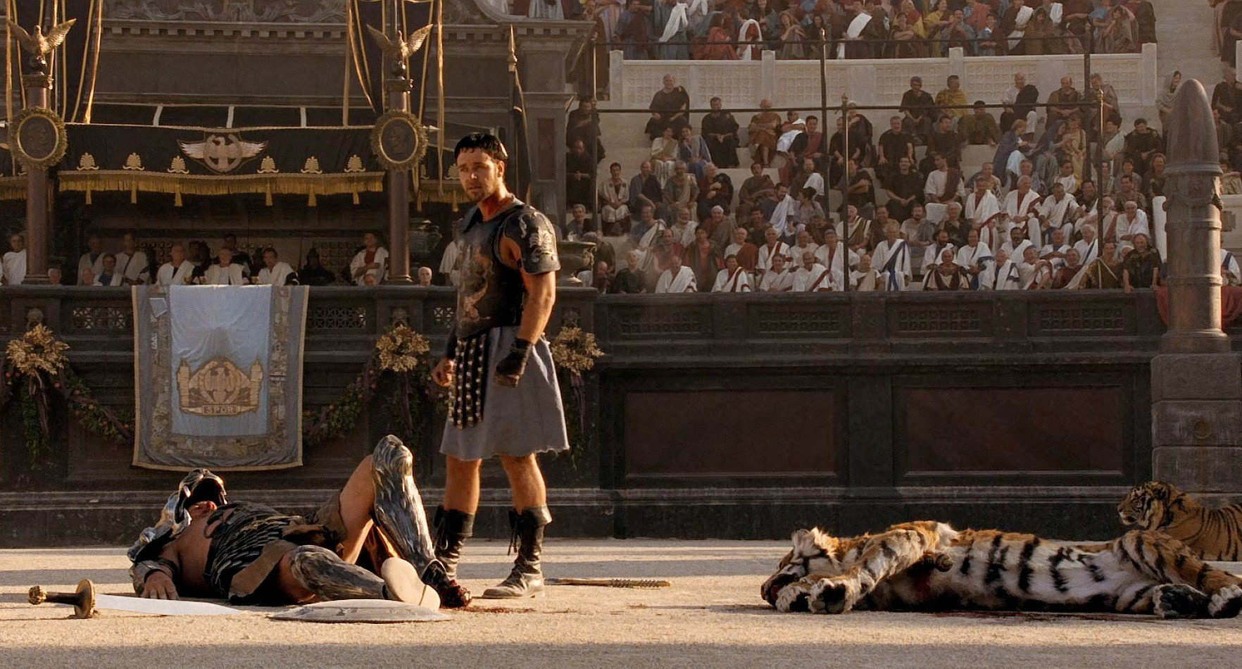 Il Gladiatore: vent'anni fa l'Oscar al film di Ridley Scott con Russell Crowe
