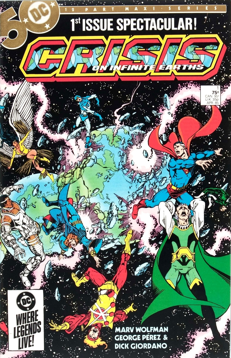 Crisis on Infinite Earths di Marv Wolfman