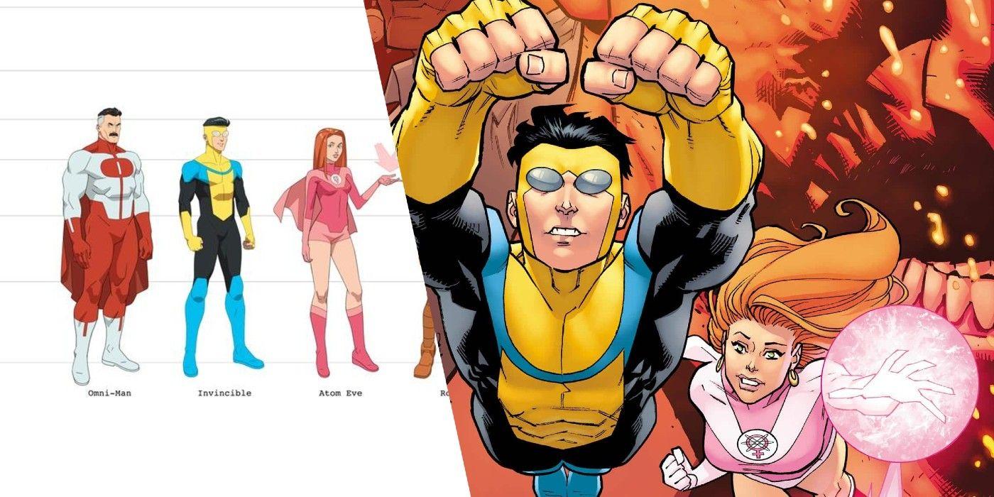 Il character design dei protagonisti