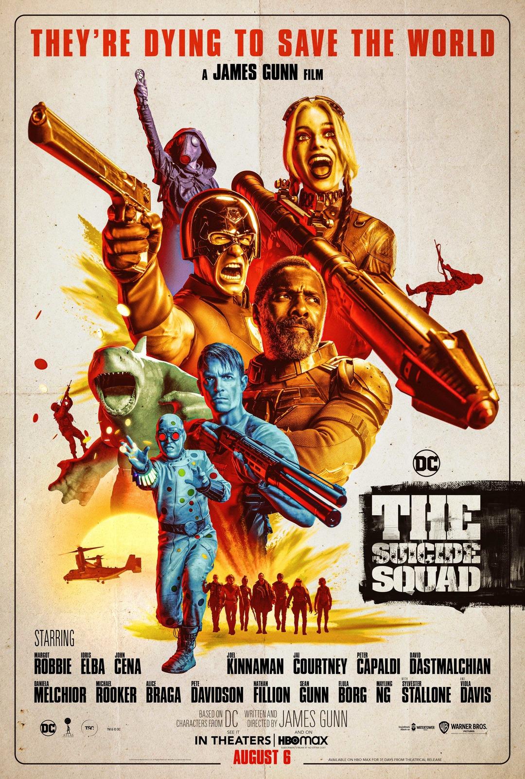 The Suicide Squad: la locandina