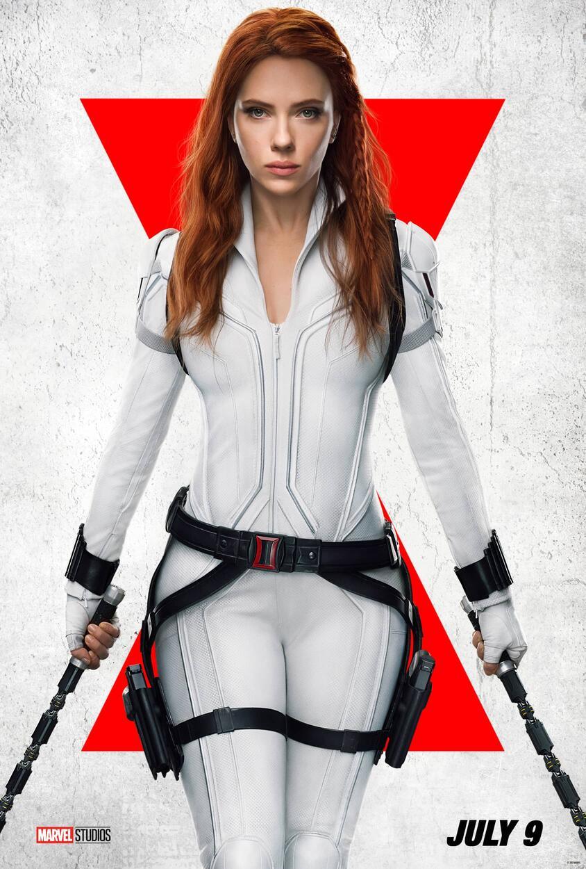 Black Widow: il nuovo poster