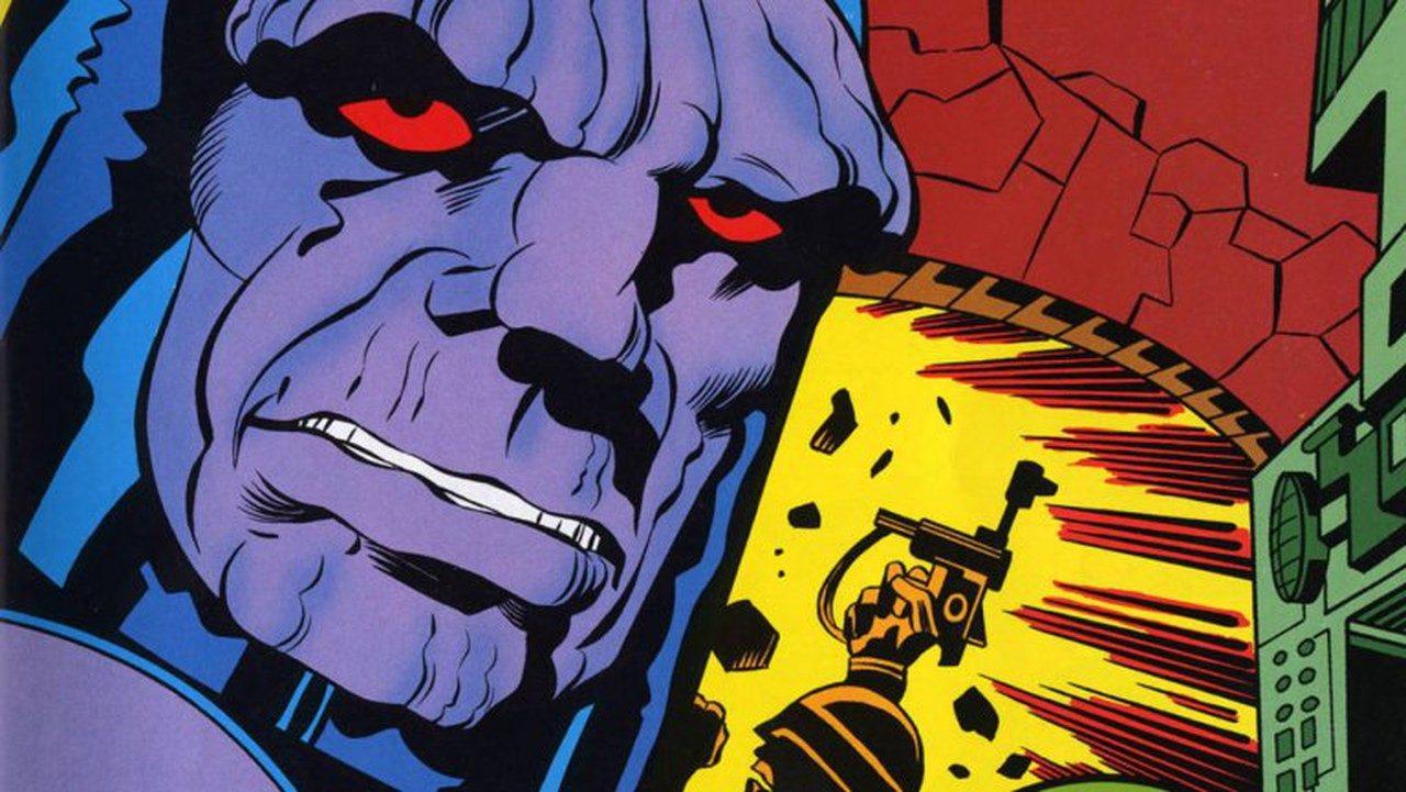 Darkseid ideato da Jack Kirby