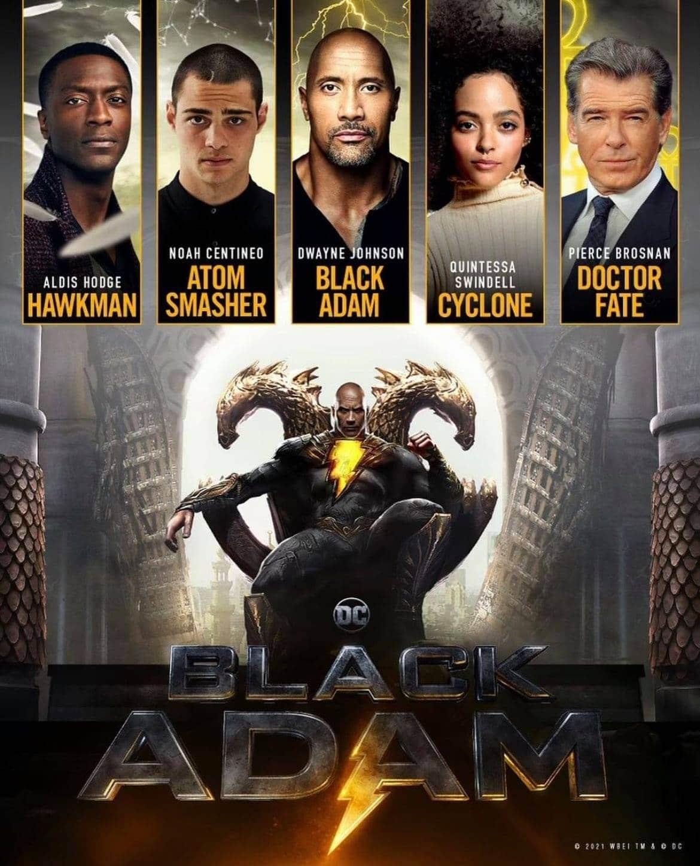Il cast di Black Adam