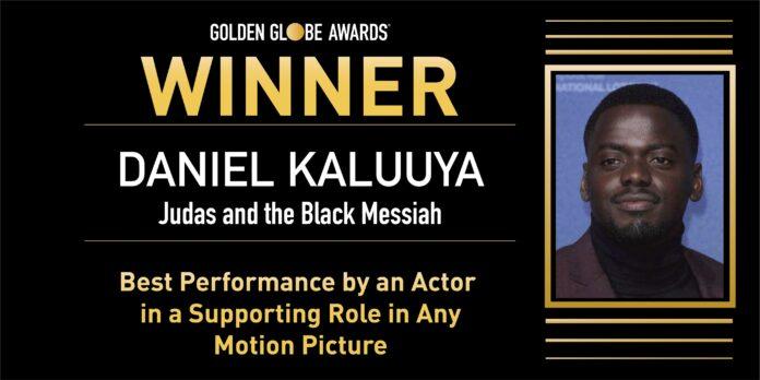 Golden Globe 2021: Daniel KaluuyaMiglior Attore Non Protagonista per Judas and the Black Messiah