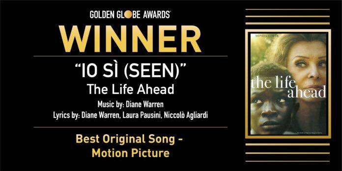 Golden Globe 2021: Laura Pausini vince la migliore canzone originale per La vita davanti a sé