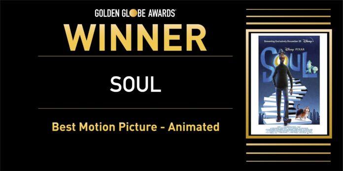 Golden Globe 2021: Soul miglior film d'animazione