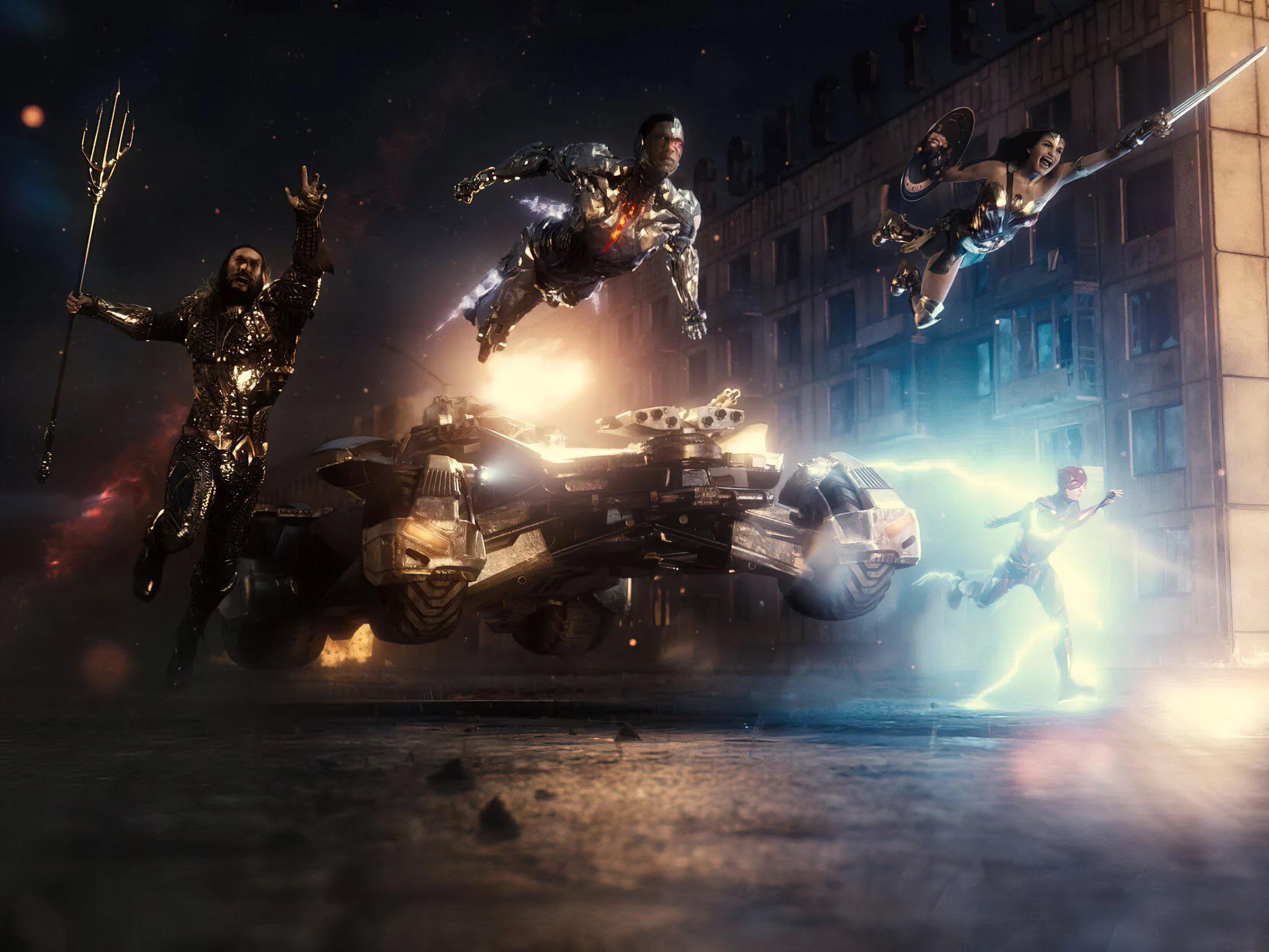 La Justice League di Zack Snyder