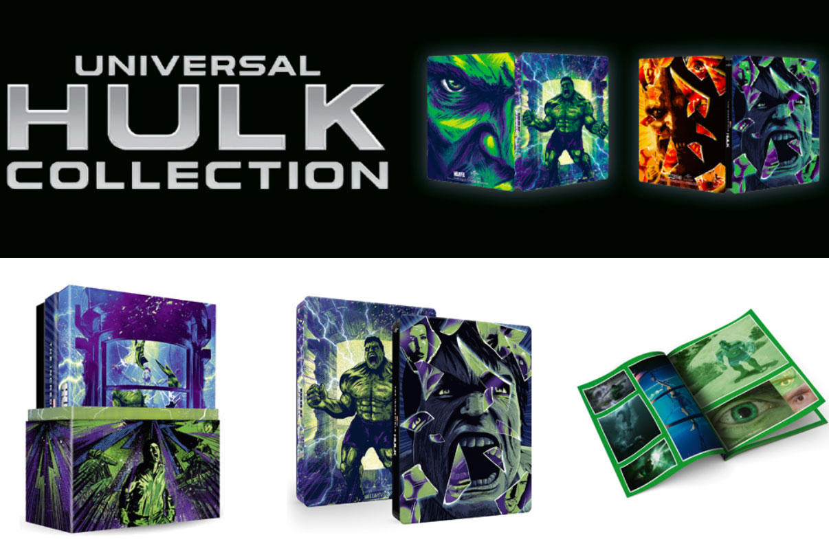 Hulk Deluxe Collection Limited Numerata Steelbook